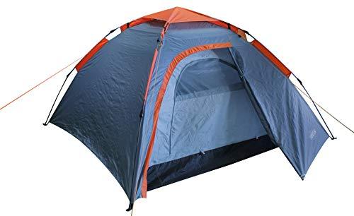 Schreuders Sport 21XF Easy Up System Tente Unisexe Gris/Orange Taille Unique