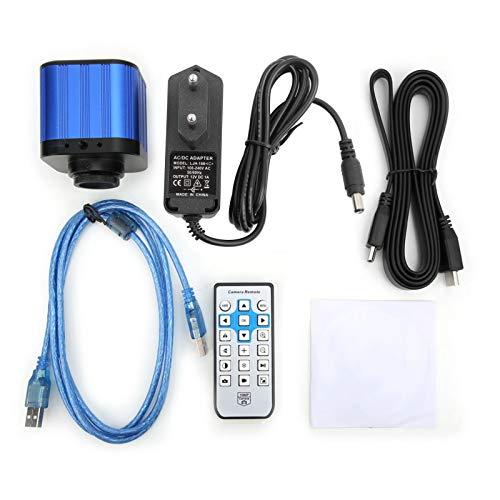 Cámara de microscopio USB, cámara de microscopio industrial eléctrica digital 4k HDMI...
