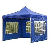 SunshineFace Wasserdichtes Zelttuch, faltbar, regenfest, Seitenteil für Pavillon