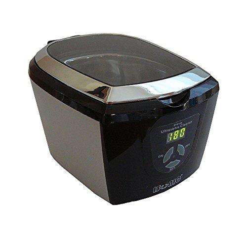 iSonic D7810A Ultrasonic Cleaner, Digital, 110V, Black/Silver
