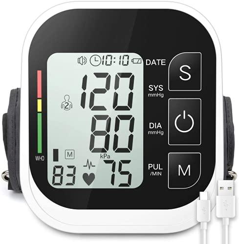 BINMA Blood Pressure Monitor Automatic Upper Arm Machine Digital BP Cuff...