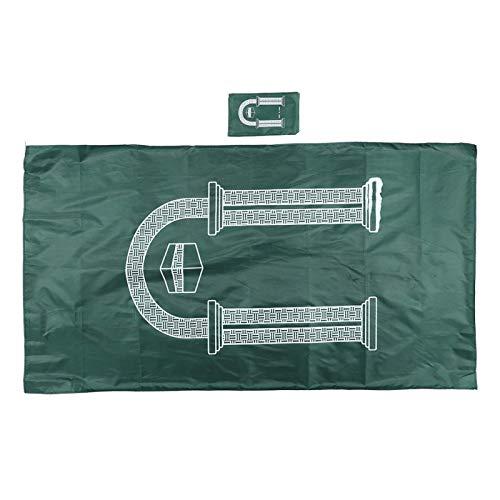 Semiter Muslimische Gebetsmatte, rutschfeste, leichte Gebetsmatte, leicht zu tragende Räume Jagd auf Wandercamping(Green)