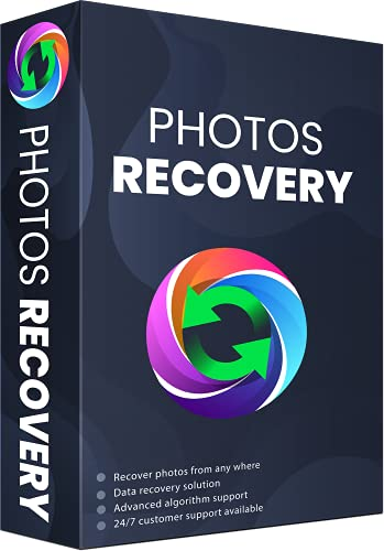 Photos Recovery Software 1 PC 1 Year   Recover Lost Photos from Windows PC   USB   External Hard disk   Retrieve Deleted Images (Voucher)