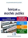 Lexique des marchés publics - Marches publics, accords-cadres et autres contrats publics