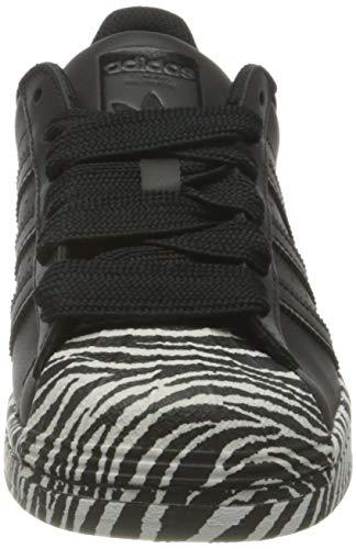 adidas Superstar W, Zapatillas Mujer, Core Black Gold Metallic Cloud White, 50 EU