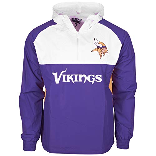 New Era NFL Minnesota Vikings Chaqueta Cortavientos Purple