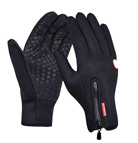 Winter Touch Screen Warm Gloves for Cycling, Amazing Thermala Premium Thermal Windproof Gloves, Outdoor Sports (Small) Black