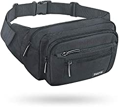 FREETOO Waist Pack Bag Fanny Pack for Men&Women Hip Bum Bag with Adjustable Strap for Outdoors Workout Traveling Casual Running Hiking Cycling