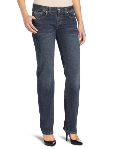 Dickies Women's Relaxed Straight Leg Jean, Antique Dark Indigo, 12 Regular
