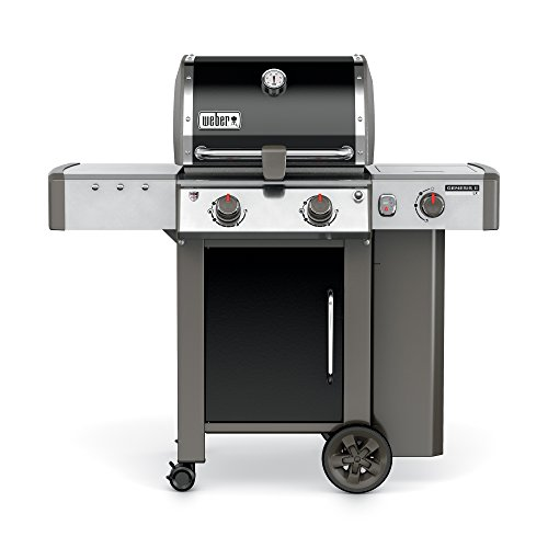 Weber, Black 60014001 Genesis II LX E-240 Liquid Propane Grill, Two-Burner