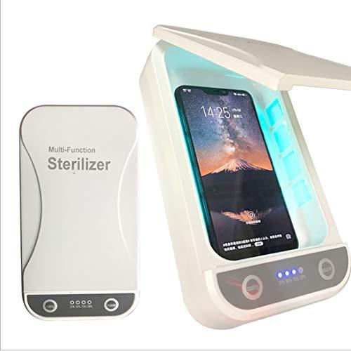 COOFOK - Desinfectante para teléfono móvil UV, esterilizador de rayo