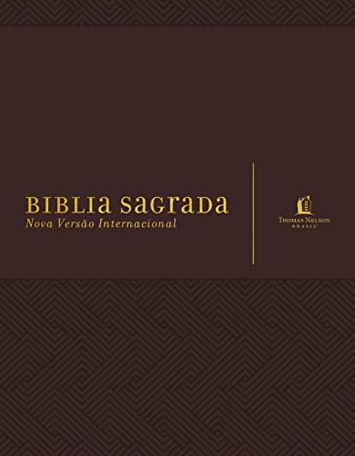 Bíblia NVI, Couro Soft, Marrom, Com Espaço para Anotações, Leitura Perfeita