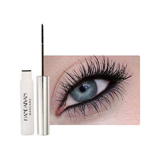 Allbestaye Mascara coloré imperméable pinceau fin Cils verts noirs et blancs maquillage longue tenue