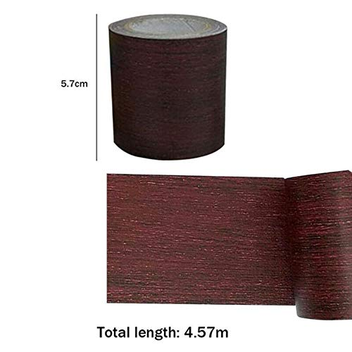 5,7 cm * 4,57 m realistische houtnerfreparatietape patch hout getextureerde meubelsticker deuren, ramen, bureaus en kasten reparatietape, 5, Frankrijk
