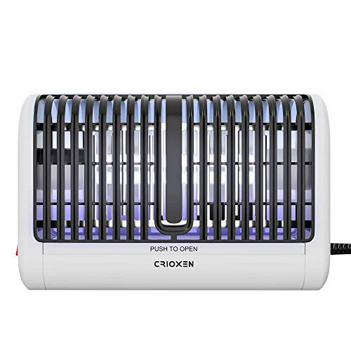Crioxen Indoor Bug Zapper - Mosquito Trap - Indoor Mosquito Killer - Electric Insect Repellent - Gnat Trap for Mosquitoes Fruit Flies and Flying Gnats