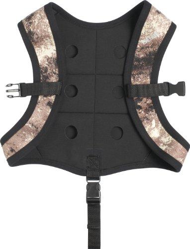 SEAC Vest Python Chaleco de Diseño Italiano, Unisex Adulto, Camuflaje, L/XL