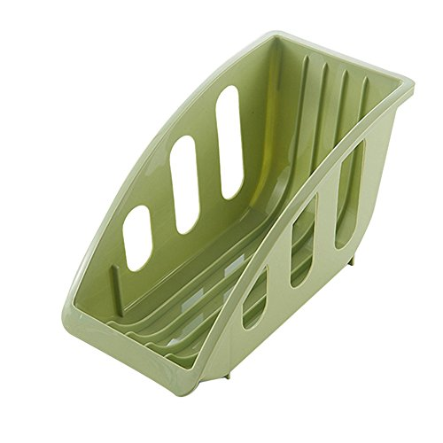 Chytaii Egouttoir Vaisselles Panier à Vaisselles Organisateur de Vaisselles Boîte de Rangement de Vaisselles Séchage Cuisine en Plastique Multicolore