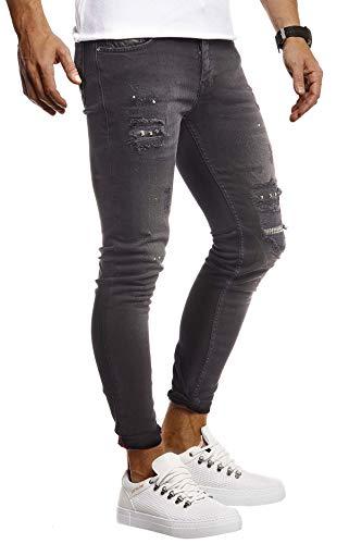 jeans mit gummizug am knoechel