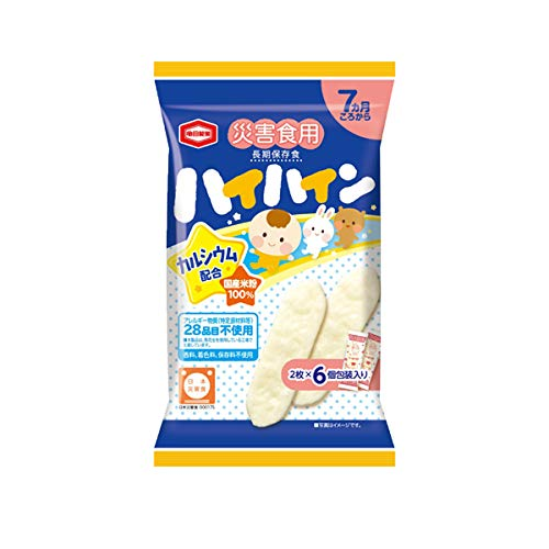 亀田製菓 災害食用ハイハイン 1食分20g×24個