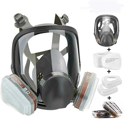 JOEAIS 15in1 Full Face Large Size Respirator Full Face Wide Field of View Widely Used in Organic product image