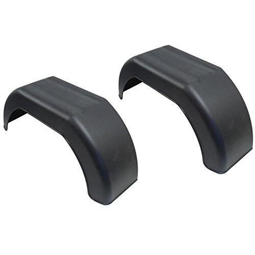 AB Tools Guardabarros de Las Ruedas del Remolque 10' plástico par ala / / Guardabarros TR002
