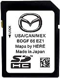 Original sd Card Updated 2020 2019 2018 Mazda SD Navigation Card BHP166EZ1J Mazda 3 6 CX-3 CX-5 CX-9 USA/Canada/Mexico