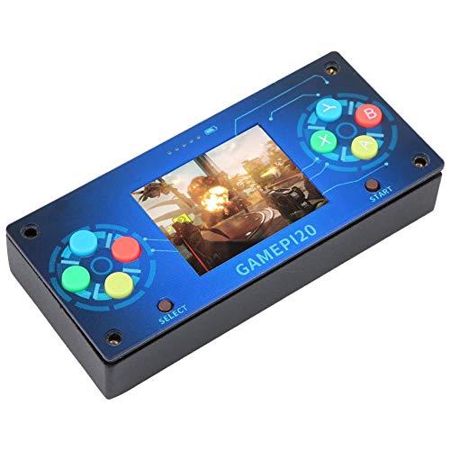 Nannday 2-Zoll-Spielekonsole, schönes Aussehen 320x240 Handheld-Spielekonsole mit dauerhafter Auflösung, Gold Craft für Raspberry Pi