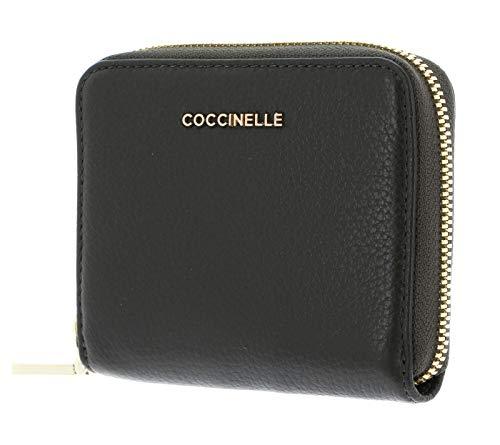 Coccinelle Metallic Soft Geldbörse Leder 11,5 cm