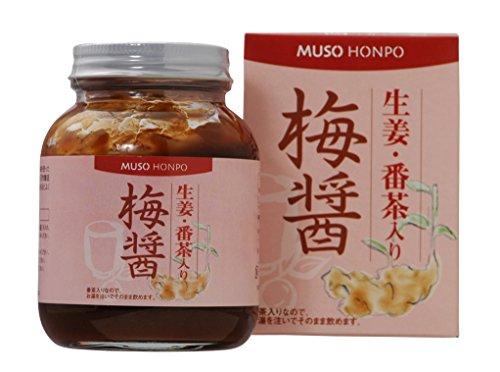 ムソー 生姜・番茶入り梅醤 250g