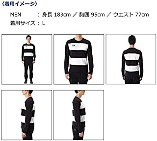Daiwa Sale DE-8407 T Shirt Long Sleeve Navy White Size XL 229449