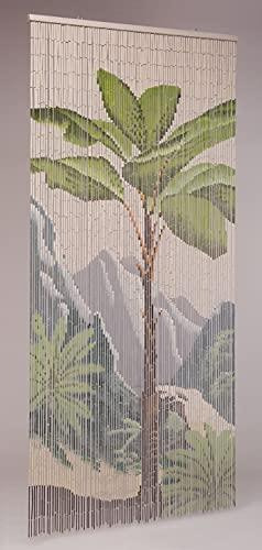 Leguana Handels GmbH Bambustürvorhang Bambusvorhang, Tropical ca. 90x200cm, 90 Stränge