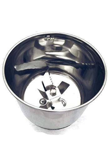 Stacktronic Mixer Chutney Steel Jar,(Black)