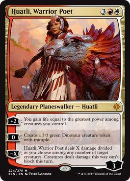 Wizards of the Coast Huatli, Warrior Poet - Ixalan