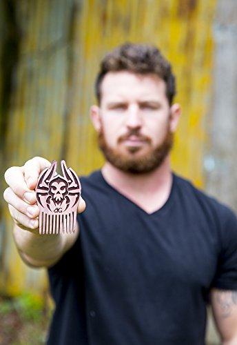 Beard Gains Beard Comb- Spider