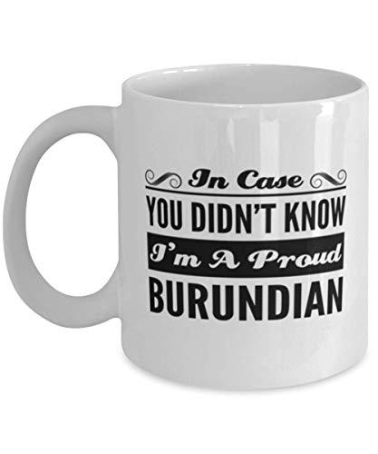 N\A Taza de café paraguaya - En Caso de Que no supieras Que Soy un Orgulloso - Taza de té Divertida de 11 oz para Amigos paraguayos Compañeros de Trabajo de Oficina Hombres Mujeres