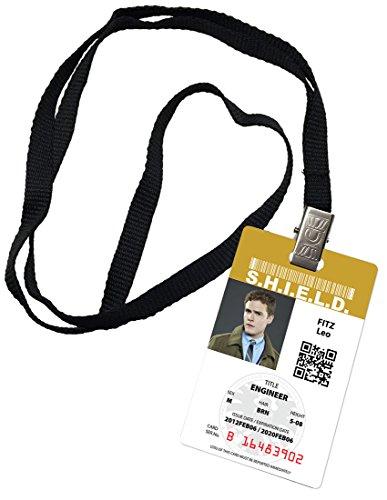 Leo Fitz Agents of Shield Engineer Novelty ID Badge Prop Costume