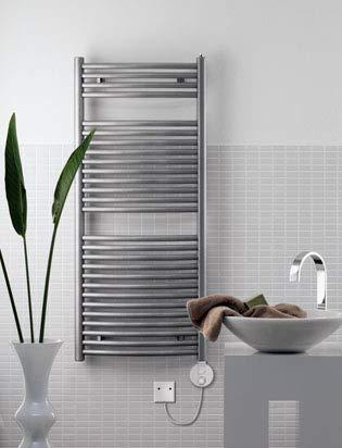 Zehnder Janda elektrische design radiator JAE-070-050 / GD, Badkamerradiatoren: Chroom - ZJ1Z0250CR00000