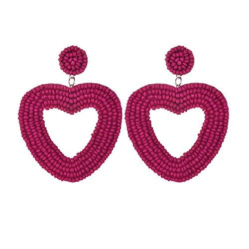Pendientes de gota de boda Regalo de mujer Pendientes de bohemia Jewelry-5