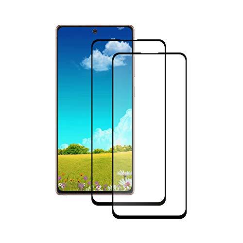 LPCJ Protector de Pantalla para Samsung Galaxy Note 20 5G, Protector de Pantalla para Samsung Galaxy Note 20 5G Vidrio Cristal Templado [2 Pack]