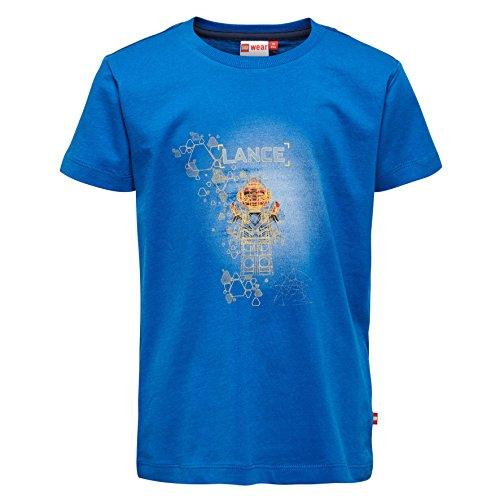 Lego Wear Jungen Lego Nexo Knights Thomas 305 T-Shirt, Blau (Blue 569), 140