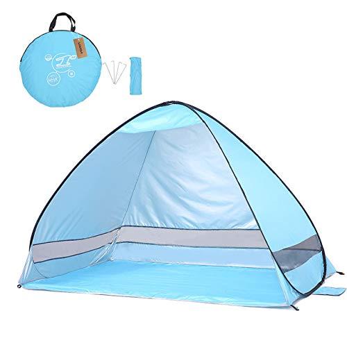 Carpa Al Aire Libre AutomáTica InstantáNea Emergente Carpa De Playa PortáTil ProteccióN UV Refugio Refugio Camping Pesca Senderismo Picnic