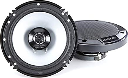 "Kenwood KFC-1666S 300 Watts 6.5"" 2-Way Car Coaxial Speakers with Sound Field Enhancer - Pair photo"