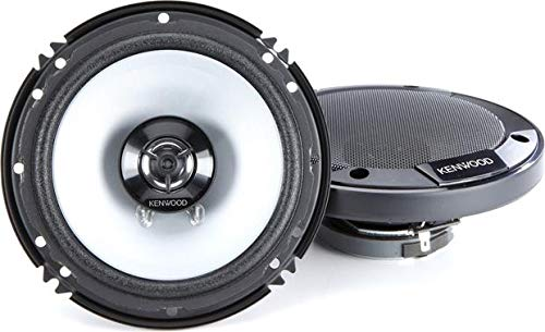 "Kenwood KFC-1666S 300 Watts 6.5"" 2-Way Car Coaxial Speakers with Sound Field Enhancer - Pair"