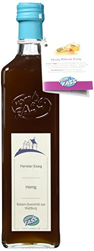 VOM FASS Waldblüten-Honig Balsam-Essig, 500ml, 5% Säure