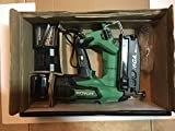 Hitachi NT1865DM 18V Cordless Straight Finish Nailer, Brushless Motor, 16 Gauge, 1' to 2-1/2' Nails, Compact 3.0 Ah Lithium Ion Battery, Zero Ramp-Up Time, Lifetime Tool Warranty