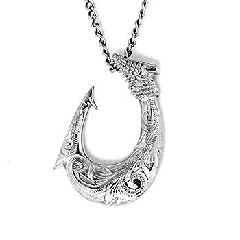 fish hook pendant