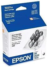 Epson Inkjet Cartridge For Epson C80 Printer, 1240 Pg Yld, Black