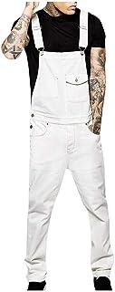 Men's Jeans Dungarees Regular Casual Cargo Men's Slacks Fit Modern Denim Jumpsuit Long Jumpsuit Fashion Clothing Sweatpants