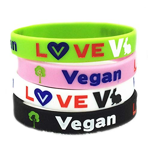 NJ Vegan Medical Bracelet Colorful Silicone Medical Alert Wristband Life Saver Medical Alert Wristband Vegan Cuff Bracelets Health Alert Jewelry for Men Women Unisex