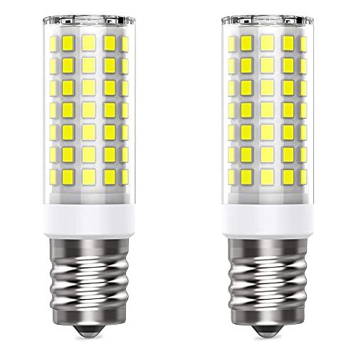 CareMont Bombilla LED E17 para Horno Microondas, Regulable, Reemplazo HalóGeno de 30-50 Vatios, Bombillas para ElectrodoméSticos de 110 V CA, Blanco